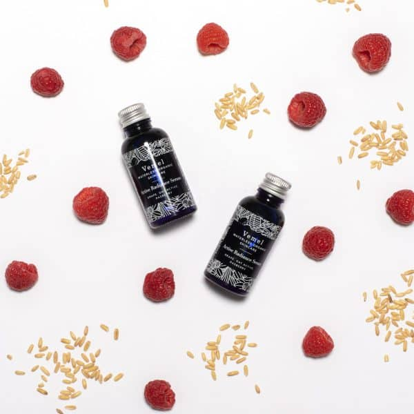 Active Radiance Serum made from natural ingredients