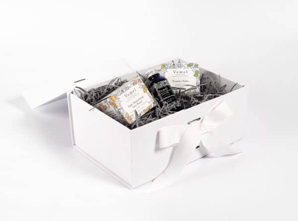 Vemel's Signature Gift Box in Packaging