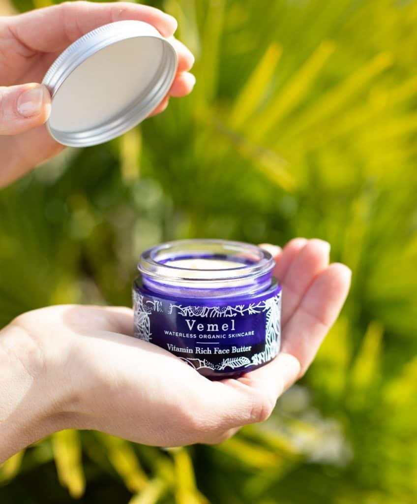 Vemel Promise of Organic and Waterless Skincare